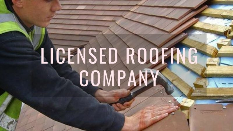 Licensed Roofing Company NY